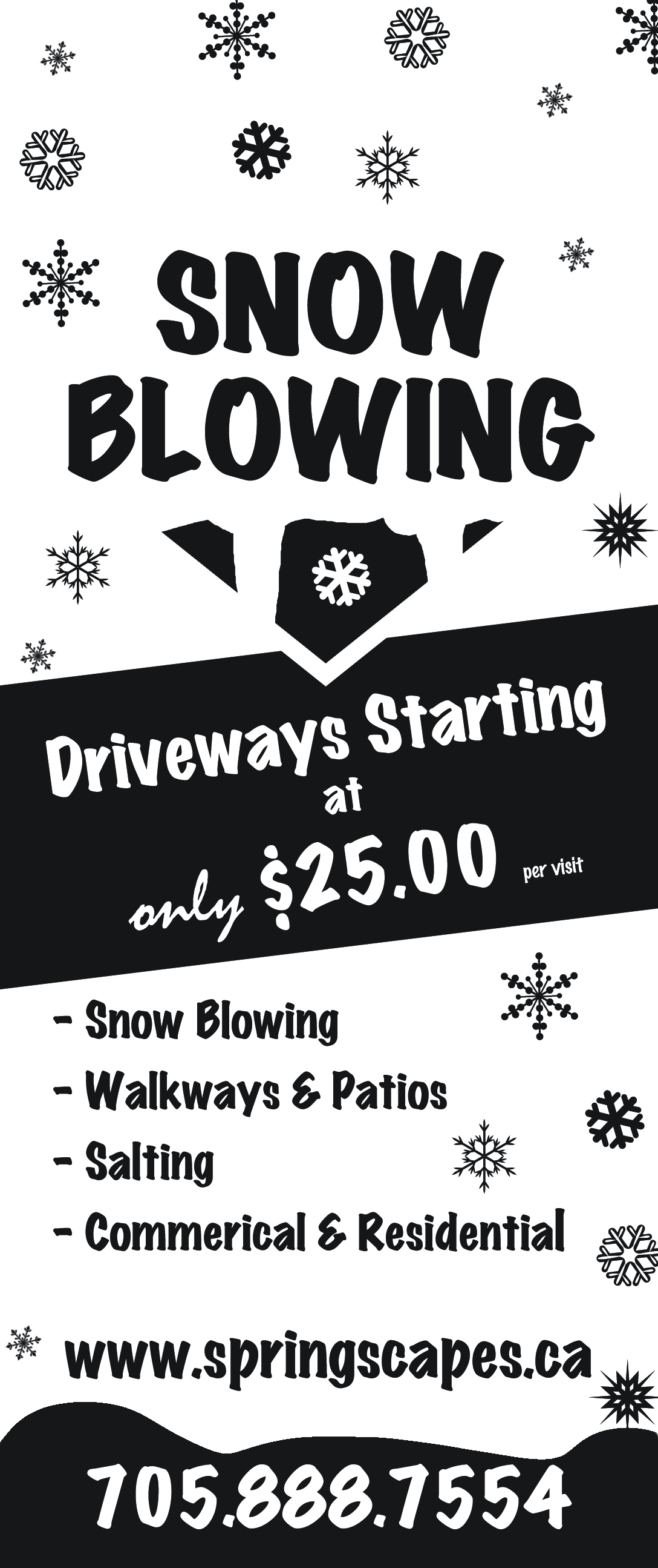 Snow Removal Snow Clearing Stayner Amp Creemore On