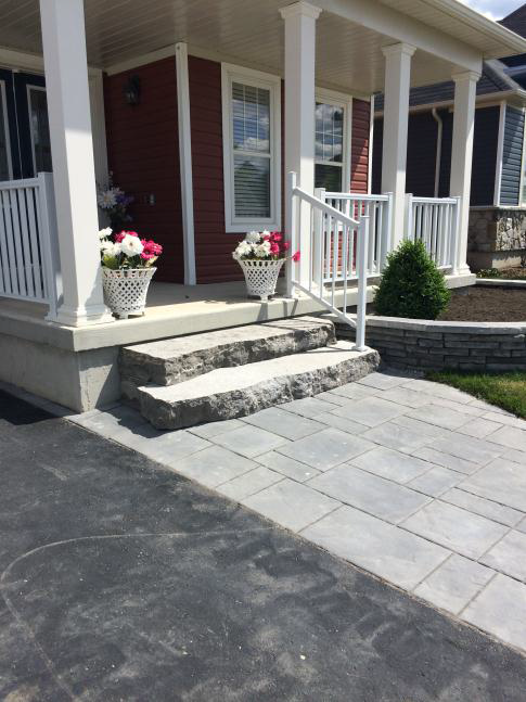 Collingwood Natural Stone Steps and Walkway
