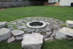 Flagstone Fireplace in Collingwood, ON